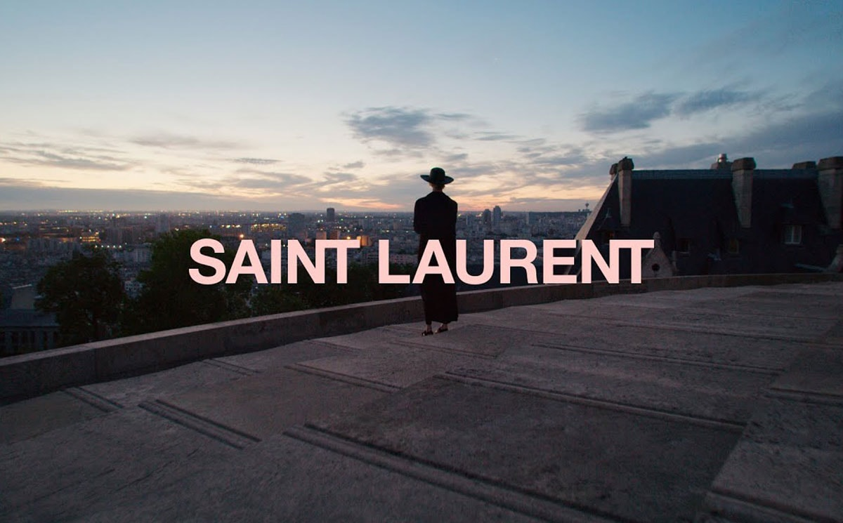 Video: Saint Laurent Men's SS2021