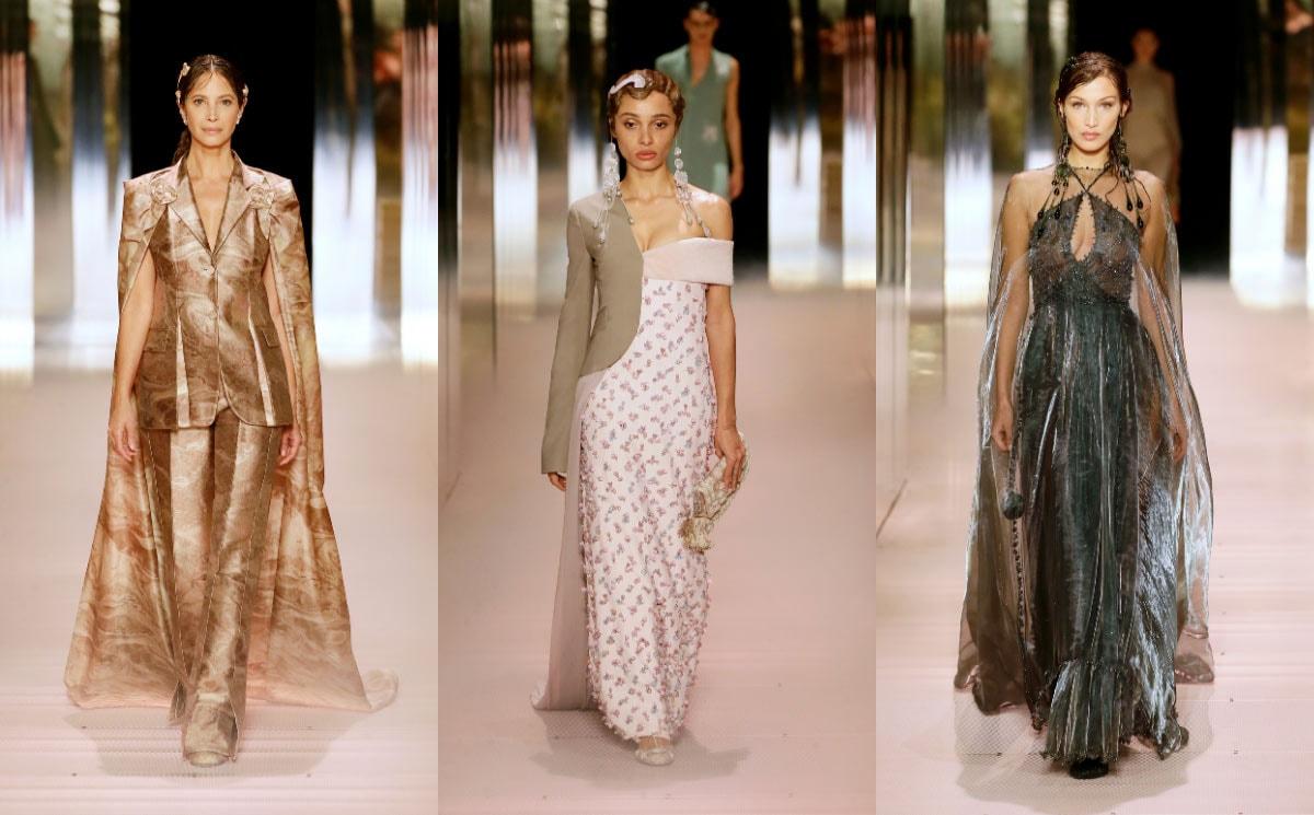 Kijken: De eerste damescollectie van Kim Jones, Fendi Haute Couture SS21