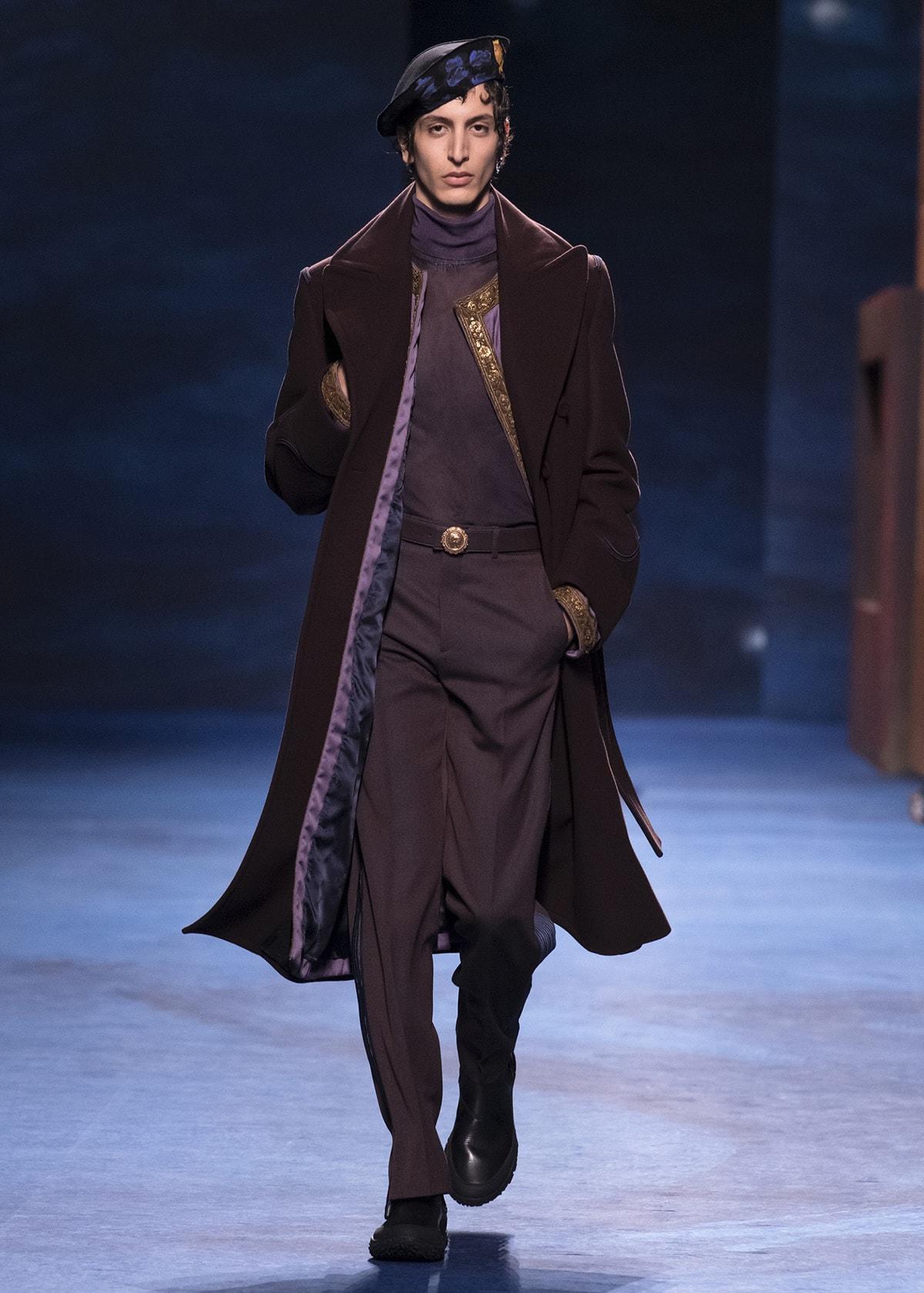 Dior werkt samen met kunstenaar Peter Doig voor menswear collectie FW21