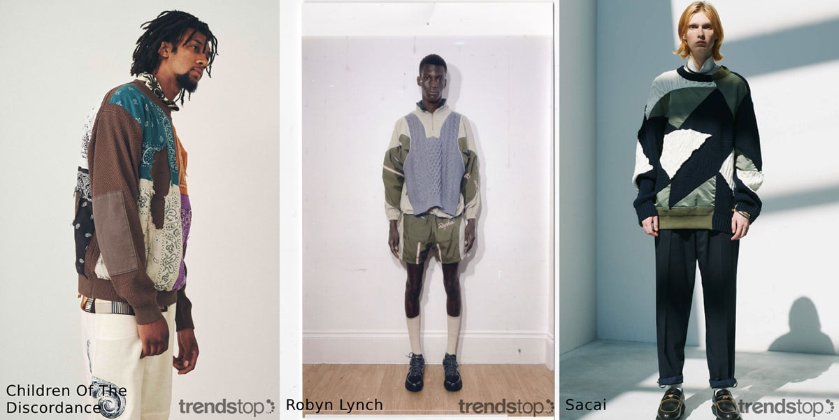 Stoffentrends in Herenmode in SS21