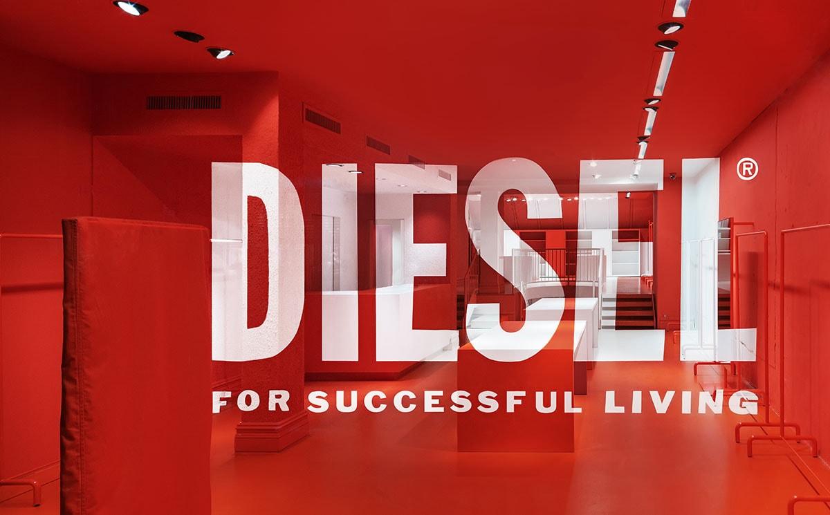 Kijken: Diesel start met nieuwe concept pop-up store in Nederland