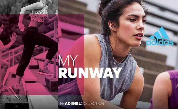 Adidas focust op tienermeisjes met nieuwe collectie