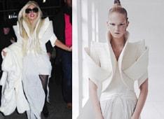 Lady Gaga in couture Ilja Visser