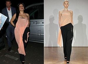 Lady Gaga draagt Ilja Visser