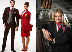 Vivienne Westwood voor Virgin Atlantic