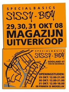 Magazijnuitverkoop Sissy-Boy