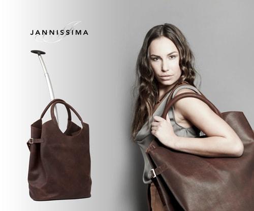 Jannissima presenteert Luxe reistassen collectie in Parijs!