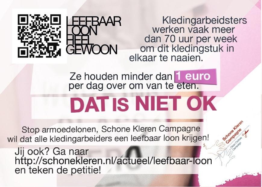 Schone Kleren Campagne start undercover kledingactie