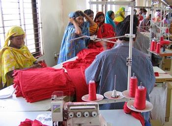 Modebedrijven investeren in textielsector Bangladesh