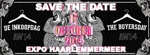 SAVE THE DATE! De Inkoopdag AW14 – 6 OKTOBER 2014 @ Expo Haarlemmermeer