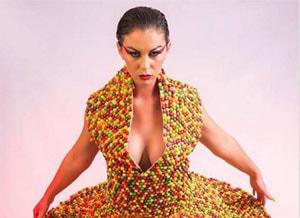 Een jurk om op te eten