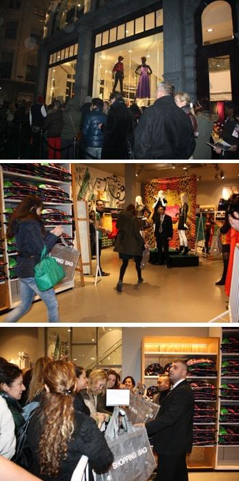 Georganiseerde chaos bij Versace for H&M