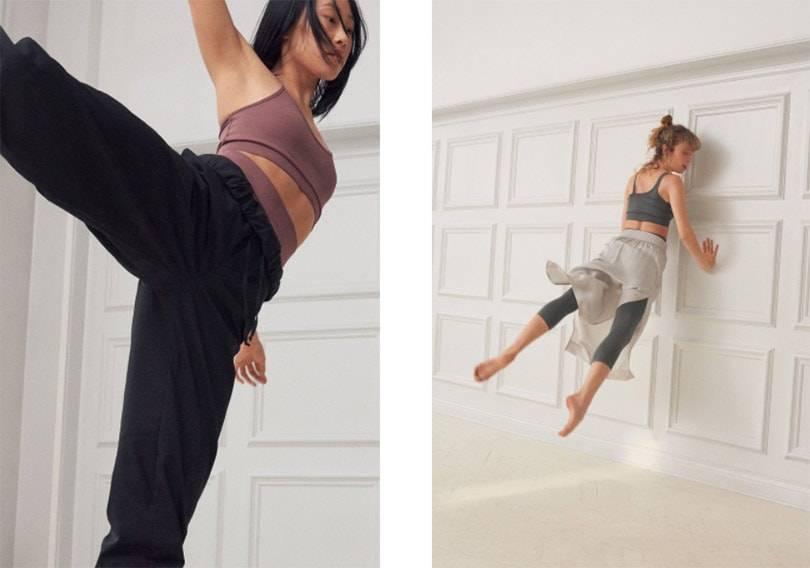¡Fiesta!  Filippa K celebra el décimo aniversario de Soft Sport con bailarines de ballet de la ópera real sueca