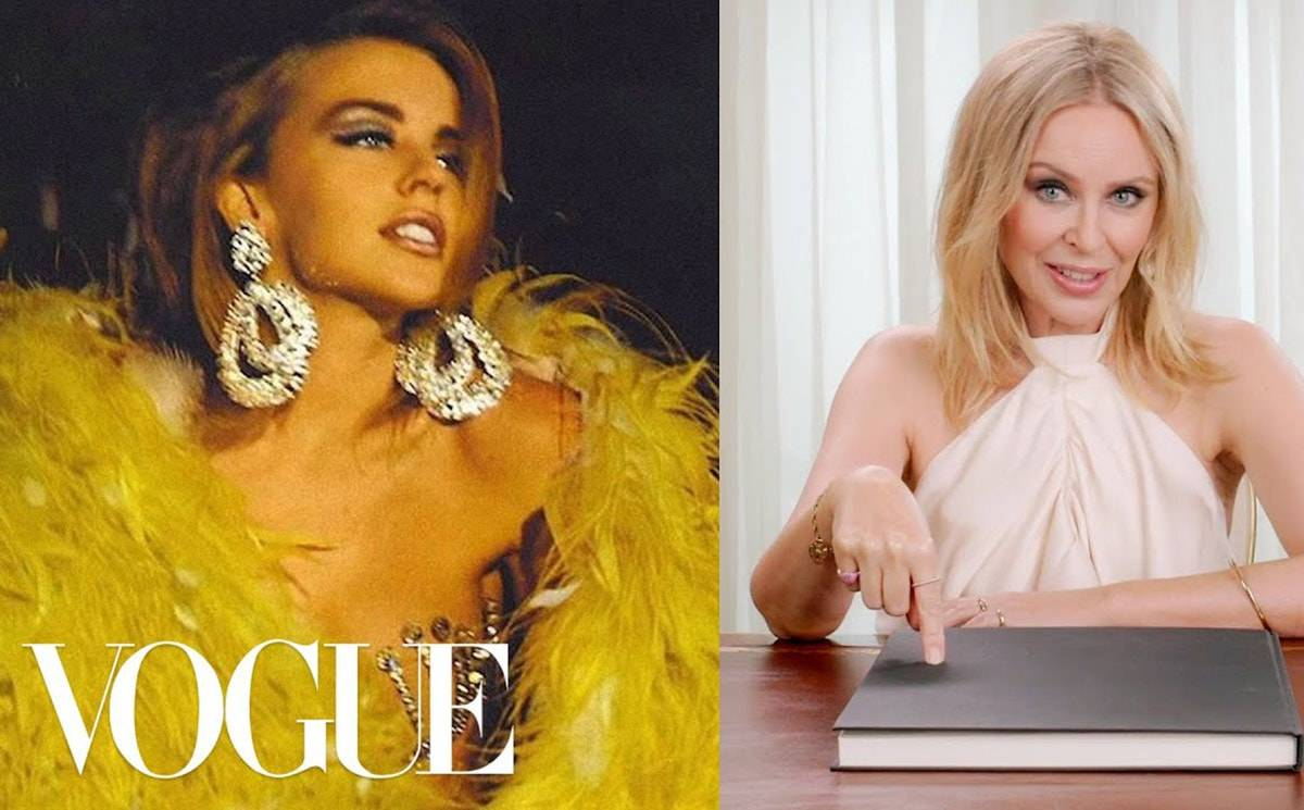 Video: Kylie Minogue in 17 looks
