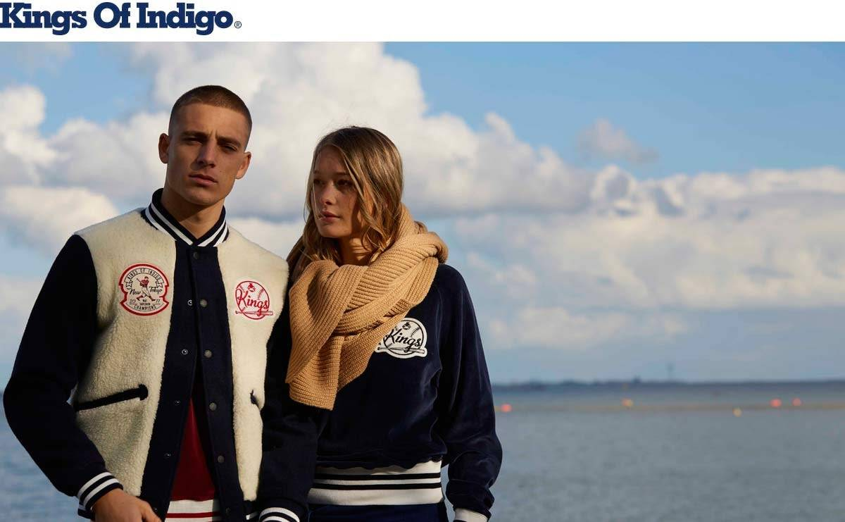 Kings of Indigo FW19 | Veganistische patches en gerecycled PET, metaal en vezels